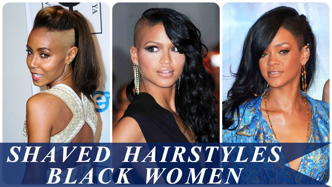 Shaved Hairstyles Black Women