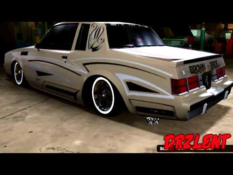 MCLA MIDNIGHT CLUB LOS ANGELES OLD DRZLENT LOWRIDERS CARS PART 1 HD