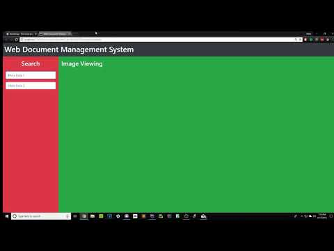 Tutorial #2 Bootstrap/CSS/HTML Build A Web Document Management System