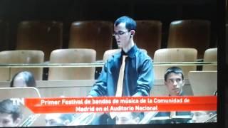 Banda Sinfónica Complutense en el Auditorio Nacional (Telemadrid)