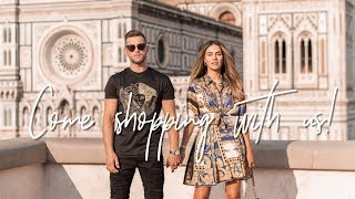 COME LUXURY SHOPPING WITH ME IN ITALY | Lydia Elise Millen