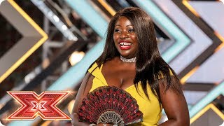 Will the Judges be a fan of Bukky Shittu?  | Auditions Week 2 | The X Factor 2017