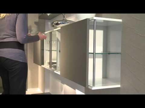 schiebet ren f r die k che youtube. Black Bedroom Furniture Sets. Home Design Ideas