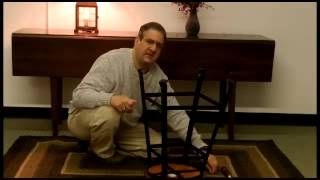 Industrial Era Iron And Wood Stool Assembly | Sturbridge Yankee Workshop