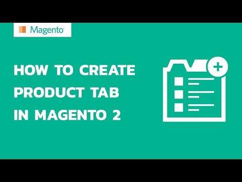 How to create product tab in Magento 2