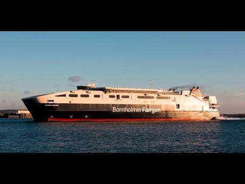 Færgen HSC Leonora Christina i Rønne og Ystad