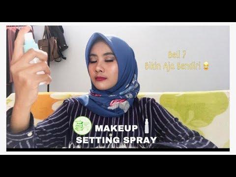DIY || DIY MAKEUP SETTING SPRAY MENGGUNAKAN ALOE VERA