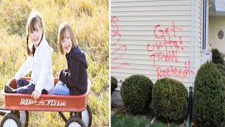 Family's Home Vandalized After They Adopted These 2 Children