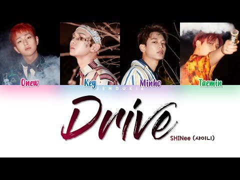 SHINee (샤이니) - 'DRIVE' Lyrics [Color Coded Han|Rom|Eng]