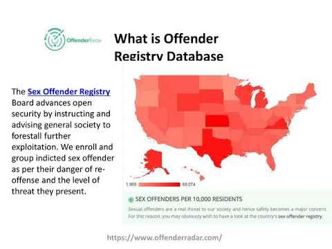 U s sex offenders registry