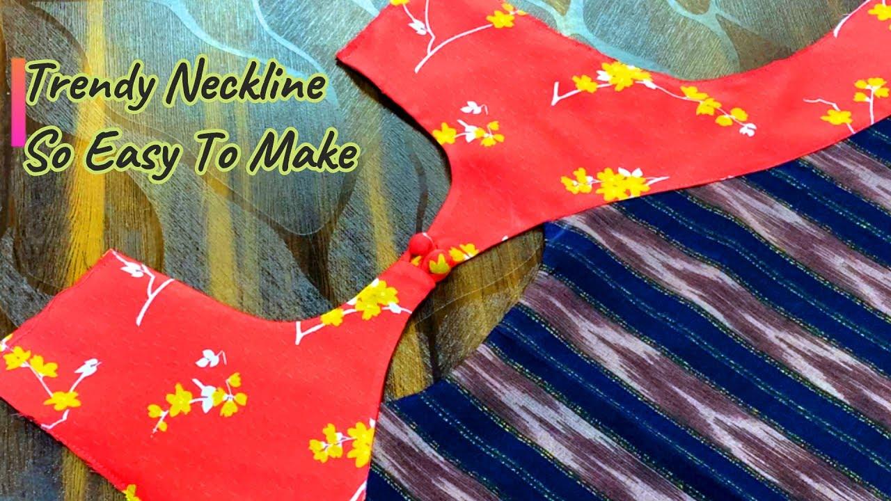Modern Neckline Design For kameez&Kurti