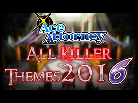 Ace Attorney: All Culprit/Killer Themes 2016