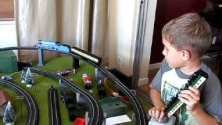Mason explains his Electric Trains