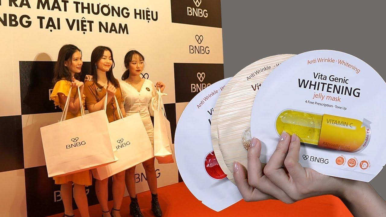 Hội chị em đi event mặt nạ BNBG ra mắt tại Việt Nam ♥ Giveaway 2 hộp quà siêu hấp dẫn | Tiny Loly