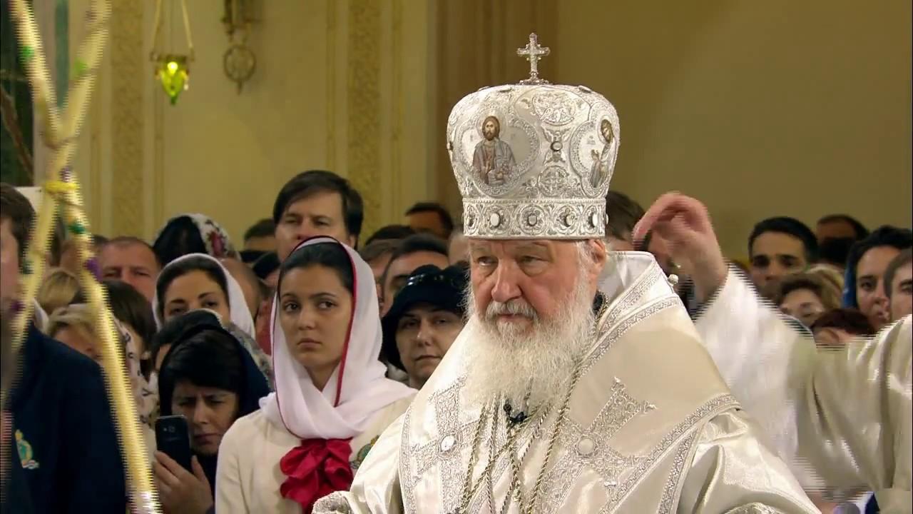 Запись трансляции освящения храма Новомучеников и исповедников Церкви Русской в Сретенском монастыре