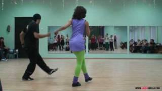 Salsa video: Francisco Vazquez & Marta Khanna - Cha-cha-cha