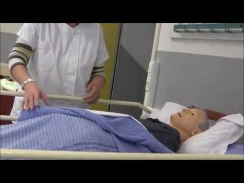 TP des SAPAT : toilette complète au lit (part 1)