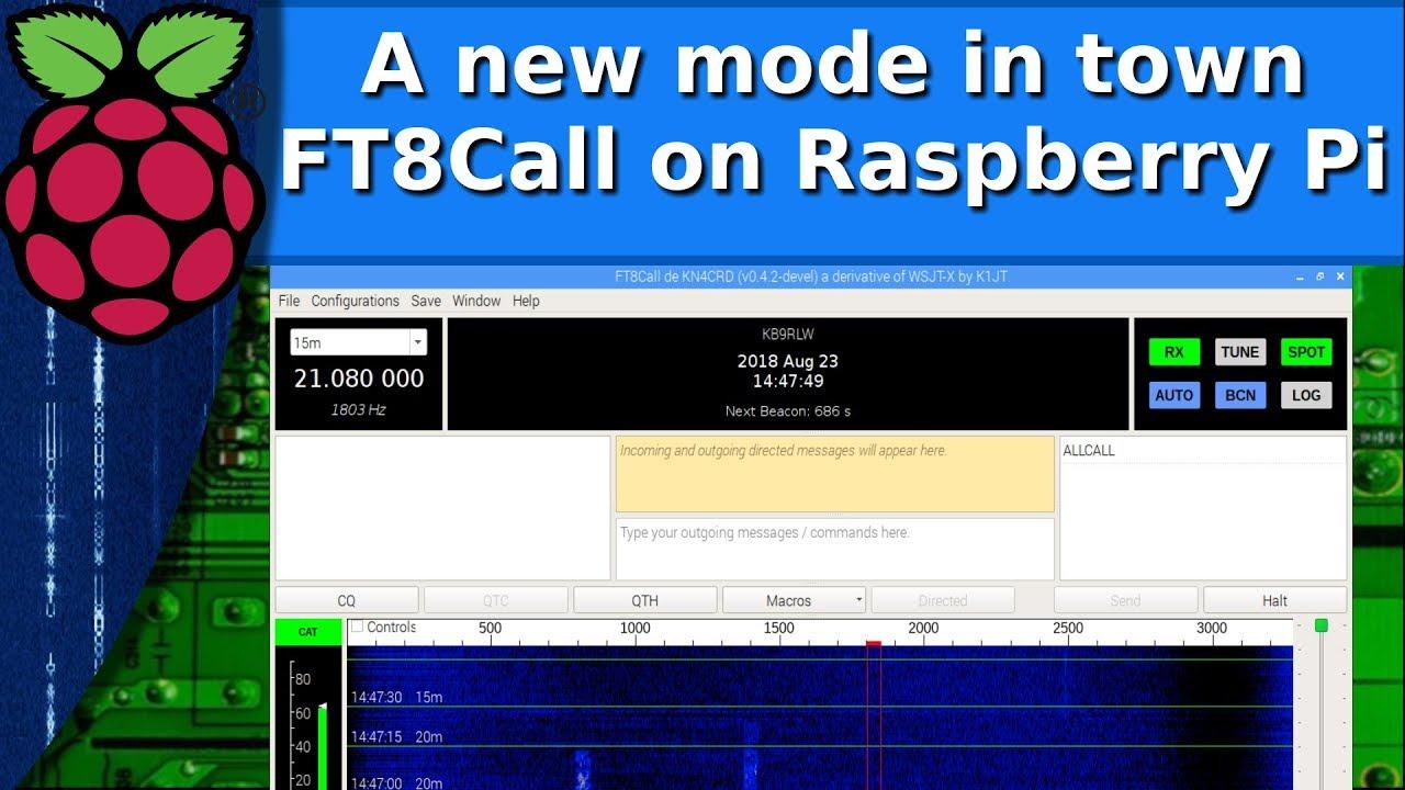 Ham Radio - Installing FT8Call on the raspberry pi