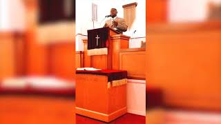 "Rev. Jamall Burney Farr - ""Don't Quit"""