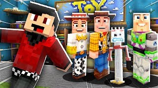 LIFE OF TOY STORY 4 IN MINECRAFT! with RageElixir & AA12