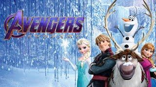 Фан трейлер мультфильма Холодное Сердце в стиле 2-ого трейлера фильма Мстители: Финал.