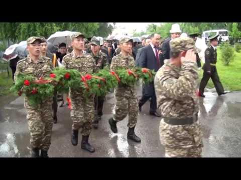 9 мая 2016 года в г  Кара Балта отметили День Победы