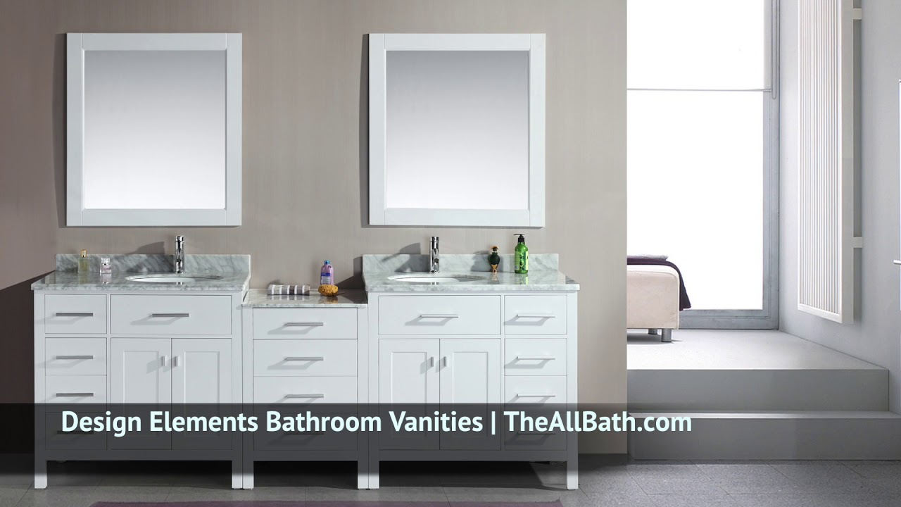 Design Elements Bathroom Vanities from theallbath.com - YouTube