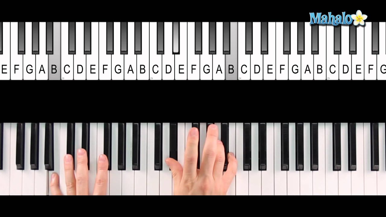 How to play an f sharp 7 chord f7 on piano youtube how to play an f sharp 7 chord f7 on piano hexwebz Gallery