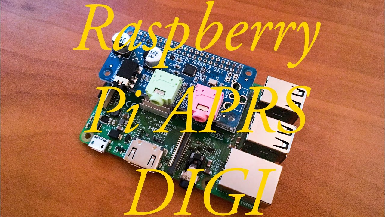 APRS I-Gate And DIGI on Raspberry Pi Using Direwolf And A FE-PI Z Audio Card