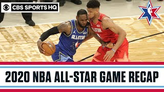 2020 NBA All-Star Game Highlights: Team LeBron wins in wild finish | CBS Sports HQ