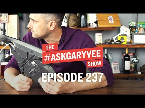 Thumbnail: Eating Shit for 24 Months, Doing What You Love & Monetizing Your Strengths | #AskGaryVee 237