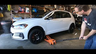 homepage tile video photo for 2018 VW GTI SE Ep.334: Installation of the Conti's Including Weigh-In