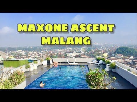 hotel-dengan-skypool-&-rooftop-360-derajat-view-kota-malang---maxone-ascent-hotel-malang-review-2019