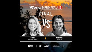 WONG E-PRO PERU - WOMEN'S FINAL HEAT