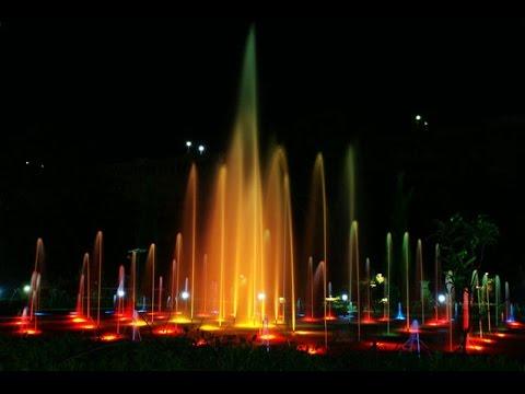 MUSICAL fountains at BRINDAVAN GARDENS MYSORE YouTube