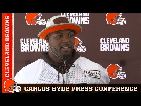 Carlos Hyde: I'll be a real happy camper if we do run the ball | Browns Press Conference