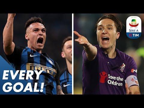 The Milano Derby is Neroazzurro & Chiesa wonderful solo strike | EVERY Goal | Serie A
