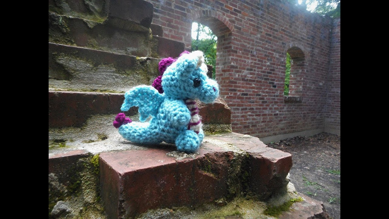 dragon amigurumi crochet pattern (5) | lilleliis | 720x1280