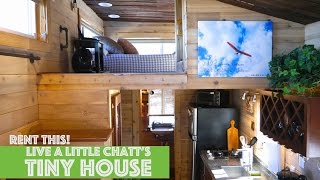 Tiny House Rental Village Atop A Cliff!