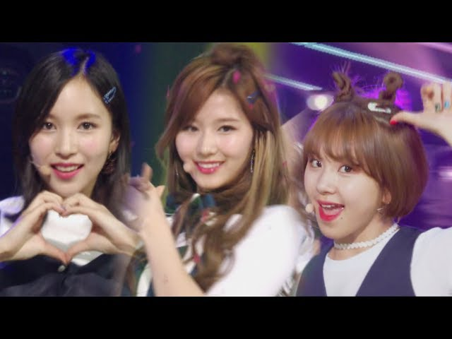 《CUTE》 TWICE - SIGNAL @인기가요 Inkigayo 20170528