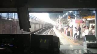 運転手準備出来てないのに…     東海道線 東京~品川