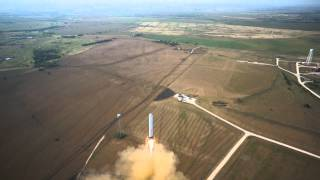 SpaceX Grasshopper Jumps Over 1000 Feet - Hexacopter Video