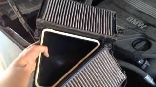 Замена воздушного фильтра салона BMW X5 E70 рестайлинг