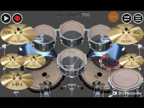 Innal Habibal Musthofa (Rock) (Real Drum)