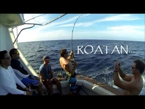 AWESOME Roatan Fishing Trip!! Filmed In HD With A GoPro Check It Out!