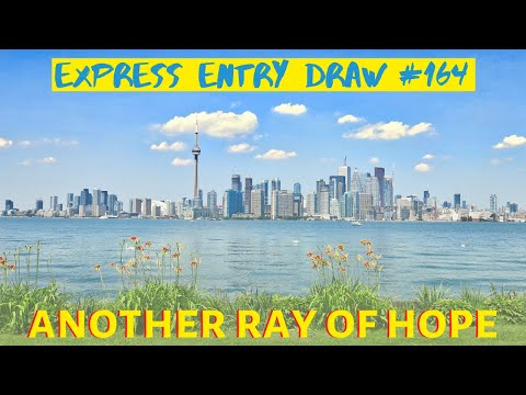 Express Entry Draw #164: Cut Off Continues To DROP