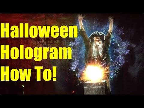 How to Make a Hologram Illusion for Halloween - Step by Step Tutorial for AtmosFearFX!