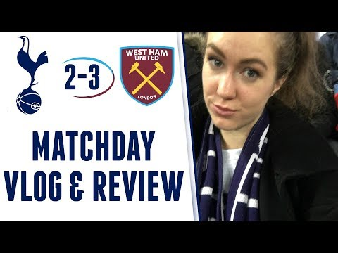 MATCHDAY VLOG & REVIEW: Spurs 2-3 West Ham | EFL (Carabao) Cup 2017/18 | #SpursXY