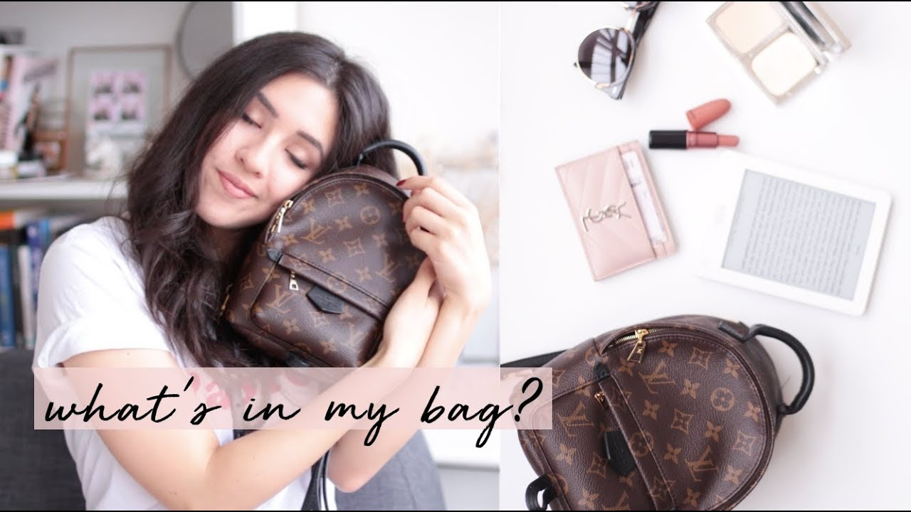 What's in my bag? Louis Vuitton Palmsprings