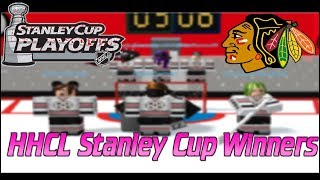 Roblox HHCL Season 16 Game 6 Stanley Cup NJ VS CHI {Chicago Wins The Cup}